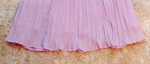 Đầm xoè dập ly