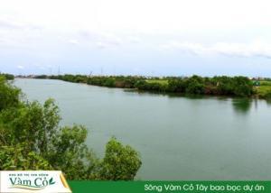 Dự án khu đô thị ven sông Vàm Cỏ - Khu đô thị bậc nhất và là kiểu mẫu của tỉnh Long An