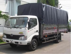 Xe tải thùng 5 tấn mui bạt