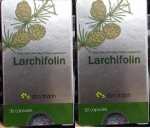 Larchifolin của Dược Tâm Thành Hỗ trợ tăng cường sức khỏe. Hộp 30 viên Liên hệ 0938 920 693 để được giao hàng tận nơi trên toàn quốc
