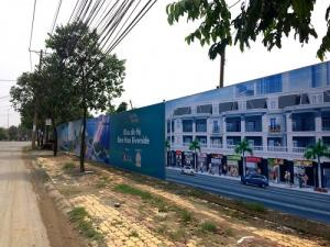 dự án nằm ngay mặt tiền đường Bùi Hữu Nghĩa