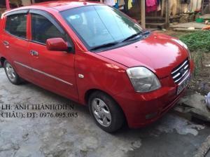 Bán ô tô Kia Morning 2007, màu đỏ, nhập khẩu chính hãng, giá 235tr