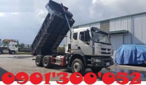 Thùng xe Chenglong 3 chân được dập từ sắt nguyên khối nên chắc chắn – bền bỉ – thích hợp chở cát – đá…. lợi thế thùng lớn chở nhiều hàng – tải trọng cao