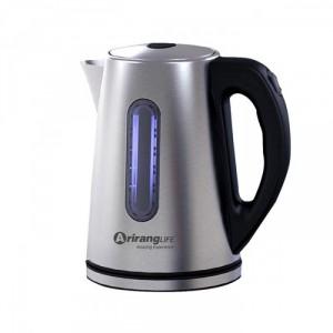 Ấm đun siêu tốc Inox ArirangLife - MSN383161 (Bạc) đun sôi nước nhanh chóng, an toàn và tiện lợi