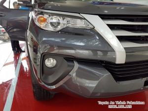 Đặt Mua Toyota Fortuner 2.4G 2017 Máy Dầu Nhập Khẩu Màu Xám Giao Tháng 01/2017 Tại HCM