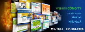 Dịch vụ thiết kế website - Tặng thiết kế logo, banner quảng cáo, thiết kế giao diện