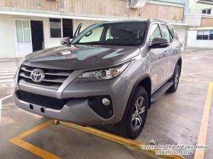 Đặt Mua Toyota Fortuner 2.4G 2018 Máy Dầu Nhập Khẩu Màu Bạc Giao