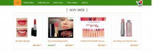 Cần bán website template bán hàng mỹ phẩm - thời trang - bất động sản