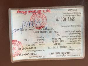 Bán shi 125,đăng ký tháng 7/2014,chạy 14,000km,màu nho