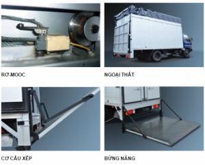 NEW..NEW...Xe tải bửng nâng 6 tấn Hyundai HD650,Chuyên cung cấp các loại xe chuyên dụng: bửng nâng,đông lạnh,xe cứu hộ...,giá cực tốt.