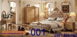 Giường cổ điển 001