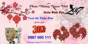 Taxi tải Thần Đèn giảm giá 30% các dịch vụ dịp Tết Nguyên Đán
