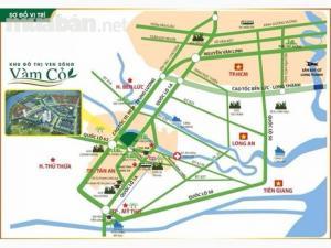 Khu đô thị ven sông Vàm Cỏ trung tâm thành phố Tân An