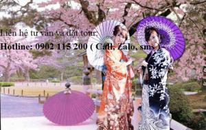 Tour du lịch Hà Nội – Nhật Bản 5 ngày 4 đêm
