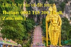 Tour du lịch Malaysia – Singapore 7 ngày 6 đêm