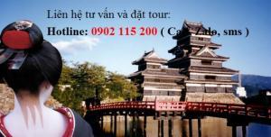 Tour du lịch Nhật Bản 6 ngày 5 đêm