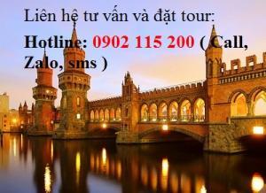 Tour du lịch Pháp - Bỉ - Hà Lan - Đức 9 ngày 8 đêm