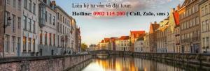 Tour du lịch Pháp – Bỉ - Hà Lan – Đức 9 ngày 8 đêm –