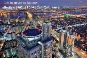 Tour du lịch Hàn Quốc 6 ngày 5 đêm