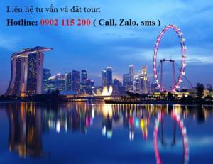 Tour du lịch Singapore – Sentosa – 4 ngày 3 đêm