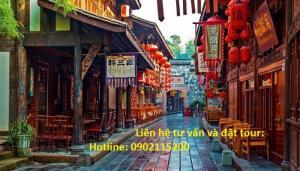 Tour du lịch Cửu Trại Câu – Thành Đô 5 ngày 4 đêm