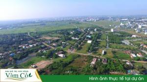 Đất MT khu đô thị TP Tân An tiện cho đầu tư, kinh doanh, pháp lý đầy đủ