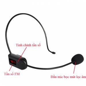 Micro không dây FM XXD-08 (BH-3 tháng)
