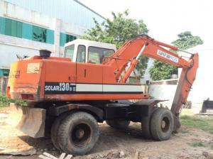 Bán máy xúc đào bánh lốp SOLAR 130W