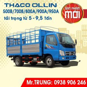 Xe tải Thaco Ollin 500B tải trọng 5 tấn