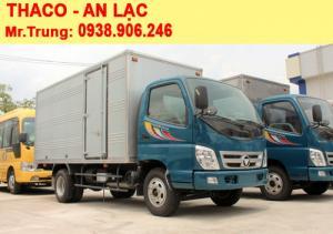 Xe tải Thaco Ollin 500B thùng kín