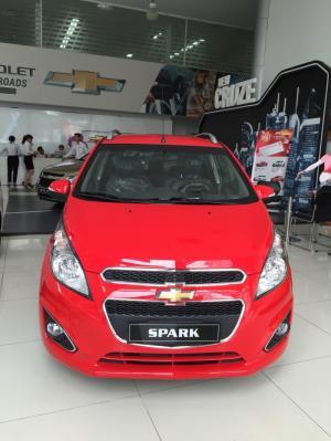 5 CHỖ GIA ĐÌNH, Chevrolet Spark LT, trả trước 120triệu, trung bình 4.6 triệu/tháng