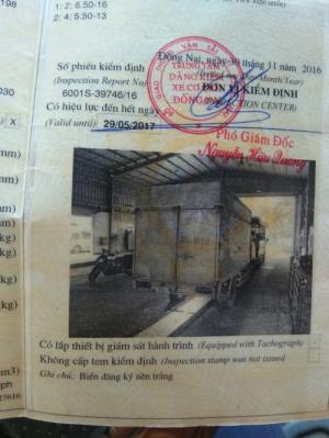 Bán xe KIA 1,4 tấn đời 2005, xe thùng kín chở...