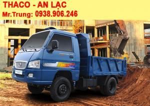 Xe ben Thaco Forland FLD250C tải trọng 2.49 tấn / thùng 1.8 m3