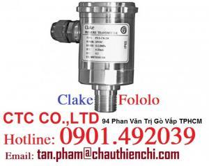 Cảm Biến áp suất Clake FOLOLO | CTC CO.,LTD