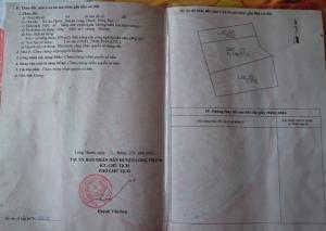 Đất 1.000m2 gồm nhà cấp 4 và 7 căn phòng trọ ngay cổng KCN Long Thành