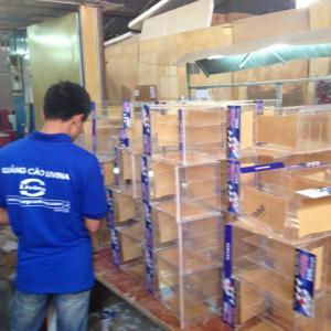 Bán hộp mica sản xuất theo yêu cầu tại hà nội