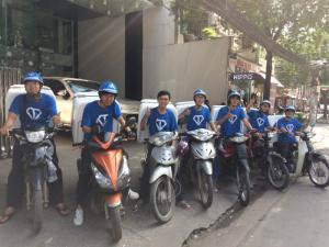 Tuyển nhân viên giao hàng xe máy