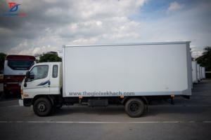 Xe tải đông lạnh nhập nguyên chiếc còn lô 10 xe cuối cùng