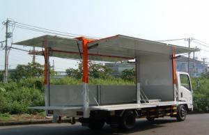 Cần bán xe Isuzu 3,5 tấn dùng chở hàng lưu động, làm sân khấu là bao đẹp.