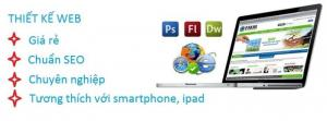 Thiết kế website chuyên nghiệp, quảng cáo online hiệu quả