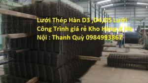 Chuyên Gia Công Lưới Thép Hàn D4 a 150*150 ,200*200
