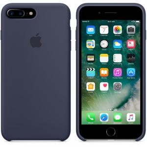 Ốp Lưng Da Lá Sen iPhone 7 Plus Chính Hãng Apple Store Japan (Midnight)