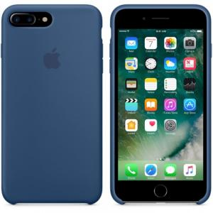 Ốp Lưng Da Lá Sen iPhone 7 Plus Chính Hãng Apple Store Japan (Ocean Blue)