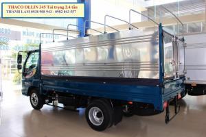 Xe tải nhẹ máy dầu 2.4T/ 2.4 tấn Thaco động...