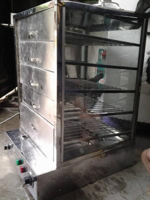 Tủ hấp nóng bánh bao,tủ hấp trưng bày bánh bao,tủ giữ nóng bánh bao