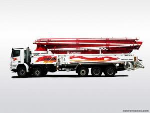 Bơm bê tông Junjin Model JJRZ 55-5.18HP chiều...