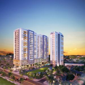 Căn hộ Moonlight Boulevard mặt tiền Kinh Dương Vương chỉ 999tr/căn, CK 4%-18%