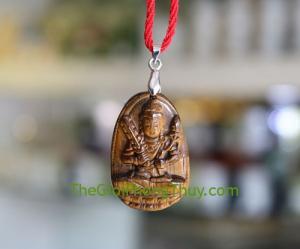 Phật bản mệnh đá mắt mèo-Hư Không Tạng (Sửu+Dần) FS6339-2