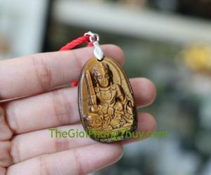 Phật bản mệnh đá mắt mèo-Văn Thù Bồ Tát (Mão) FS6339-3