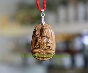 Phật bản mệnh đá mắt mèo-Đại Thế Chí Bồ Tát (Ngọ) FS6339-5